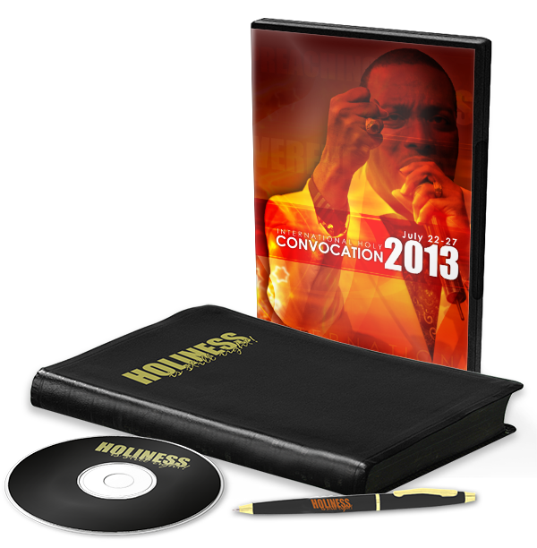 Holy Convocation Souvenir Book Bundle