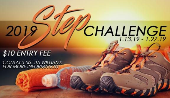 Full Gospel Holy Temple 2019 Step Challenge