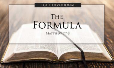 Full Gospel Holy Temple Devotion - The Formula