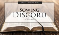 FGHT Devotional - Sowing Discord
