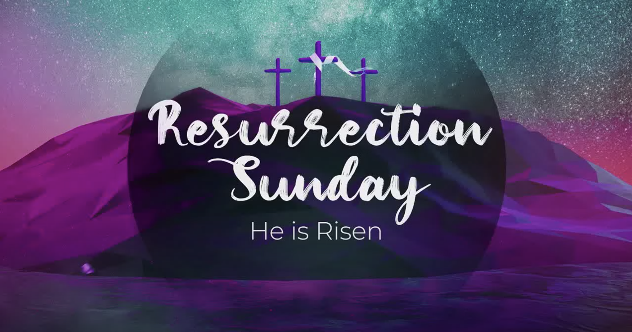Resurrection Sunday 2020