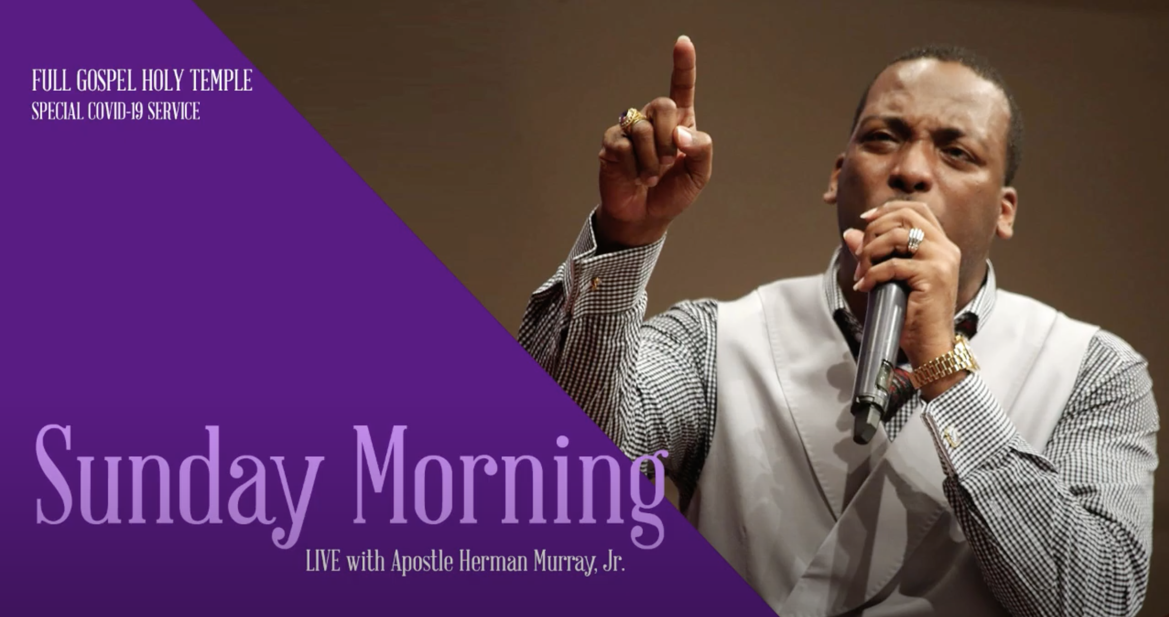 Apostle Herman L. Murray